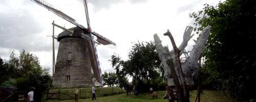 molen tijdens de Kunstroute - foto Lukas van der Hijden